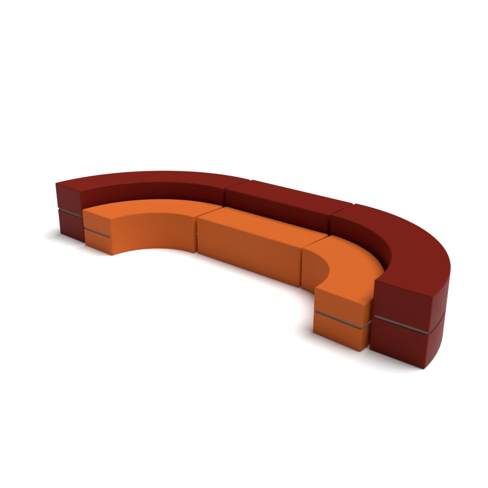 Curved Collection AM12 | Beparta Flexible School Furniture