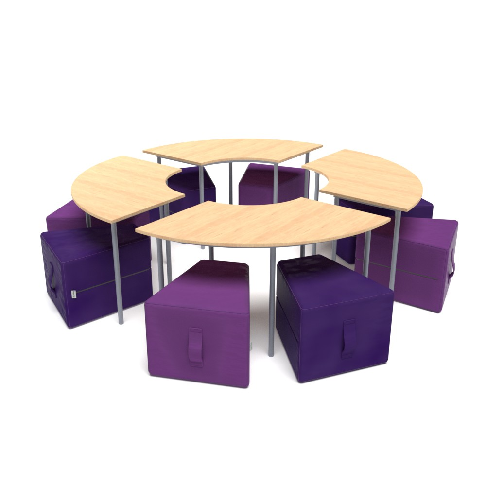 Dovetail Collection SEE02 | Beparta Flexible School Furniture