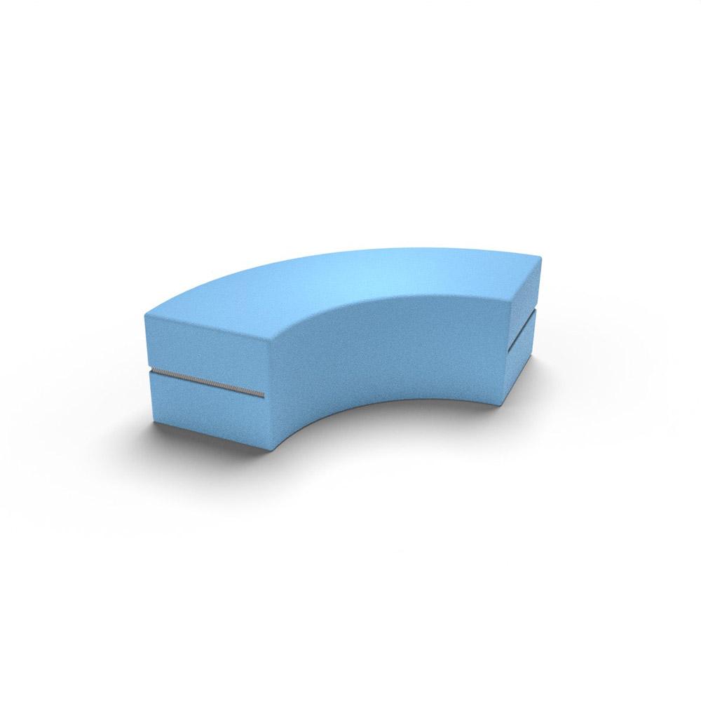 Curved Jnr Middle Tier | Beparta Flexible School Furniture