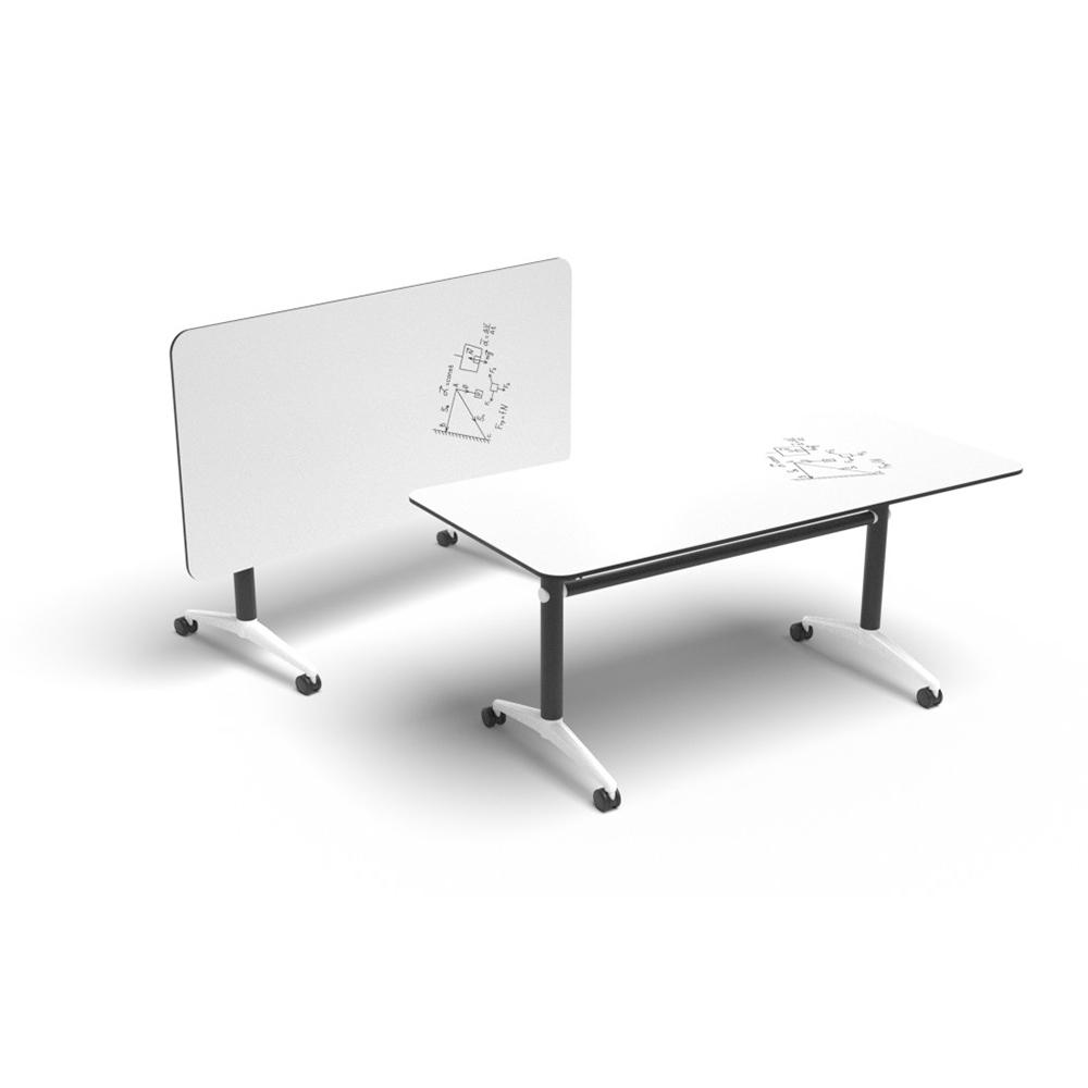 Soft Rectangle Foldable Table | Beparta Flexible School Furniture