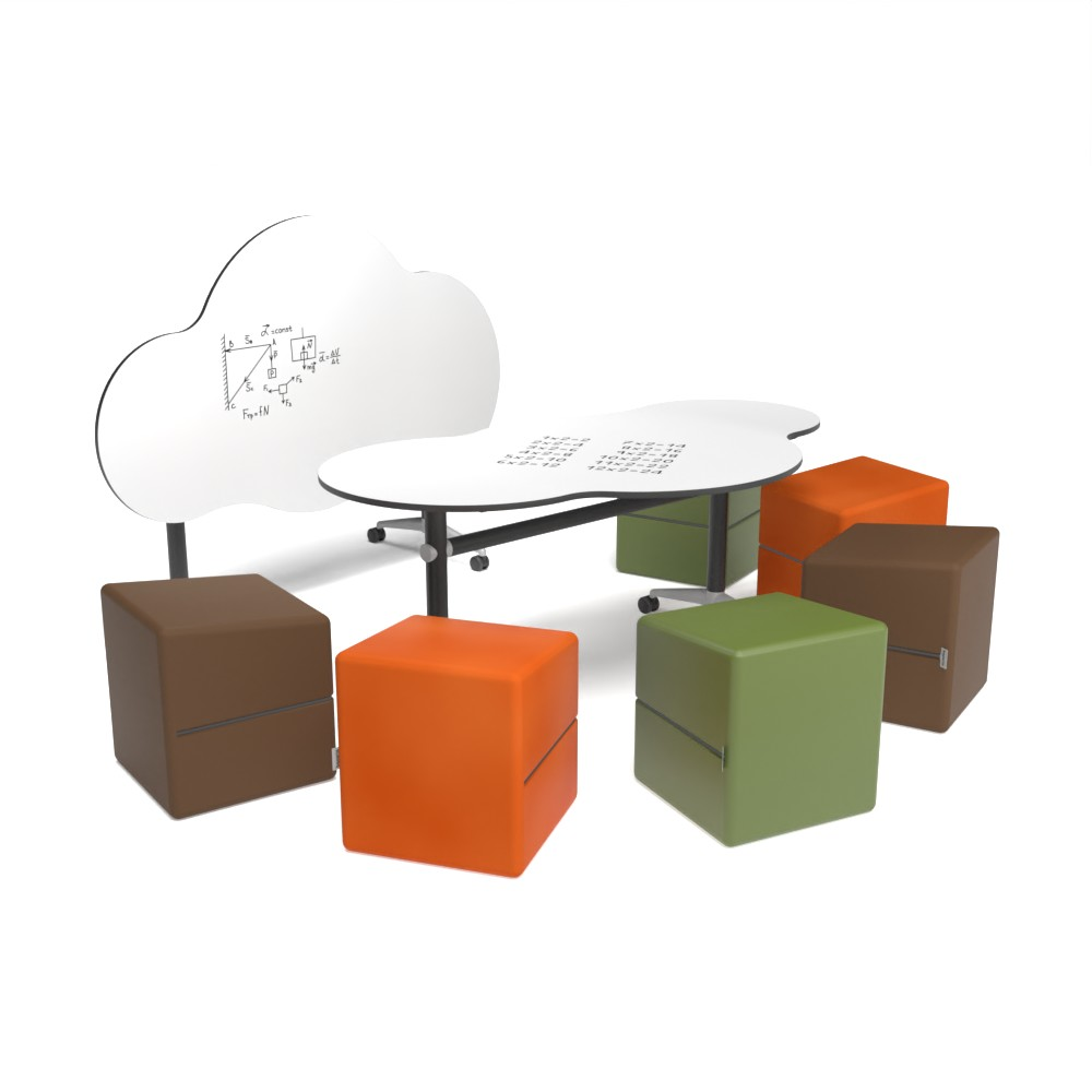 Cloud Foldable Collection CLD01 | Beparta Flexible School Furniture