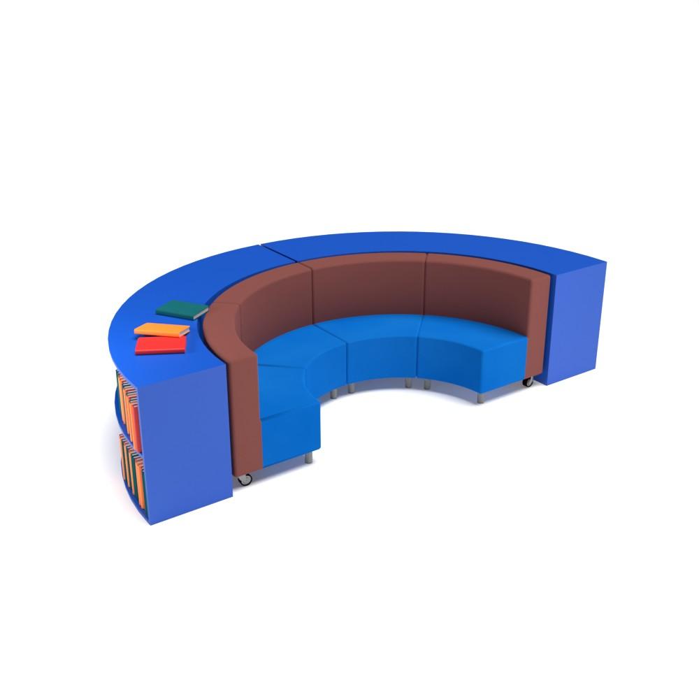 Presentation Bookcase Collection NNCG15 | Beparta Flexible School Furniture