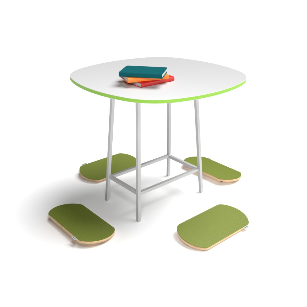Rounded Square High Collection P04 | Beparta Flexible School Furniture