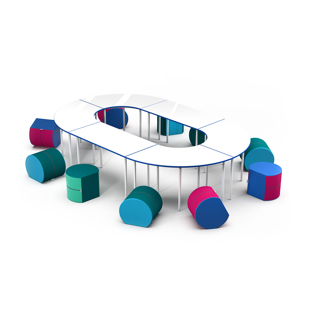 Collab Qtr Collection C009 |Beparta Flexible School Furniture