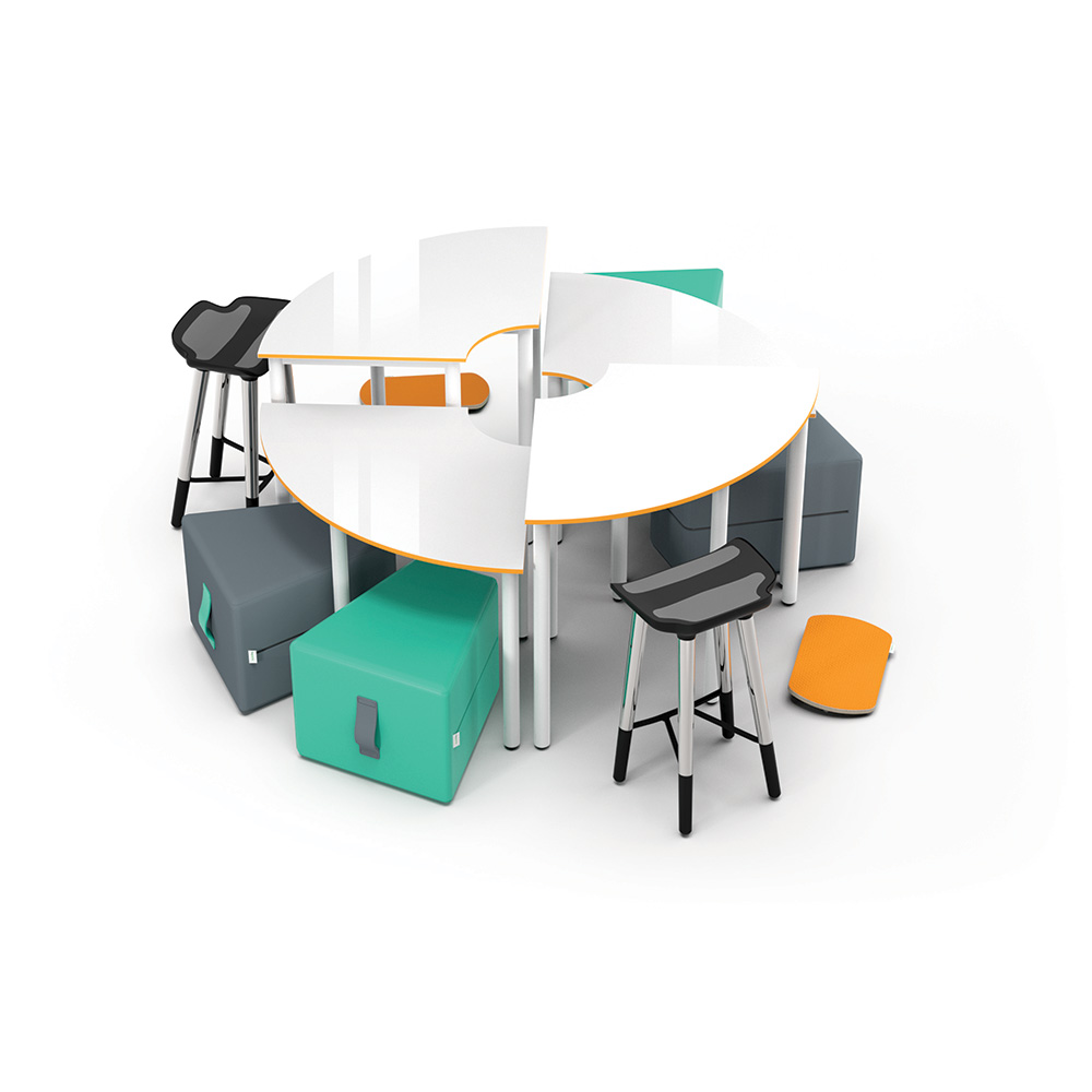 Dovetail High-Low Collection C016 | Beparta Flexible School Furniture