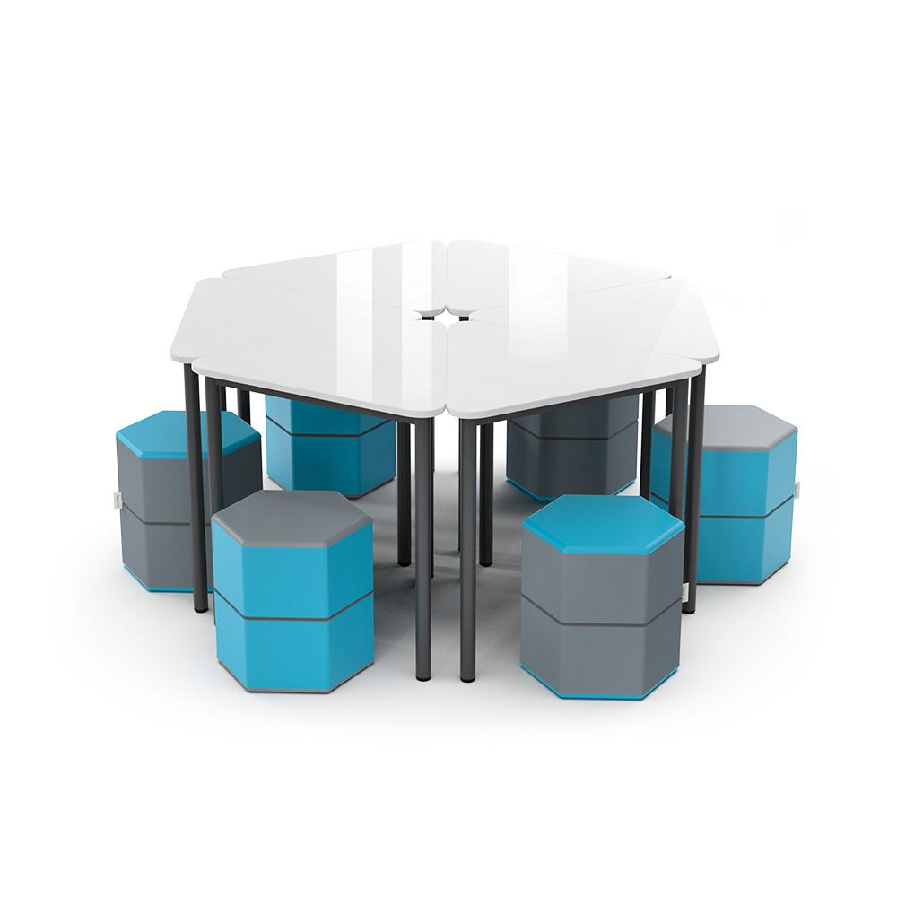 Hexagon Collection C012 | Beparta Flexible School Furniture