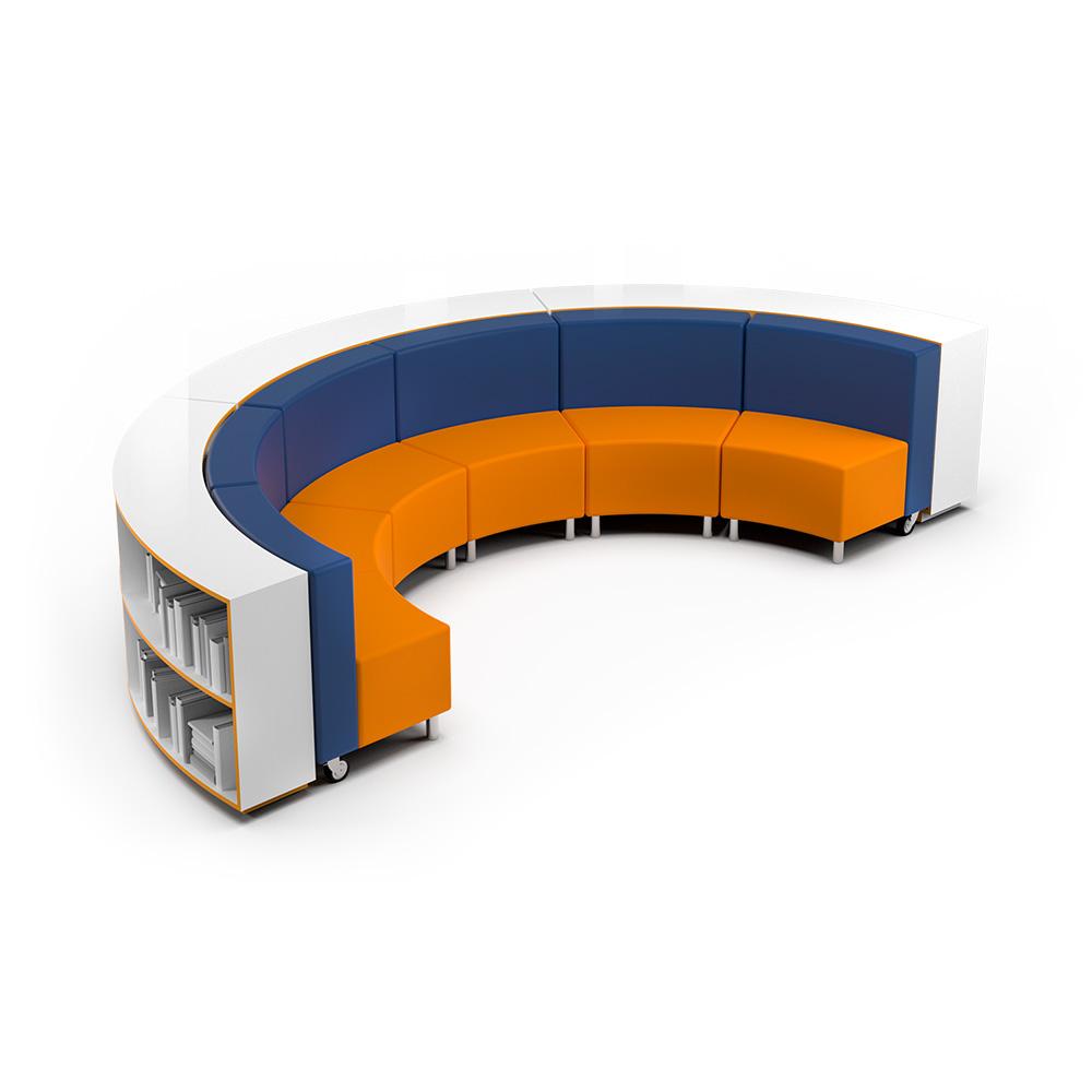 Hub Bookcase Collection C024 | Beparta Flexible School Furniture