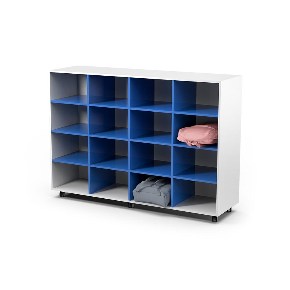 Storage 16 Shelves | Beparta Flexible School Furniture
