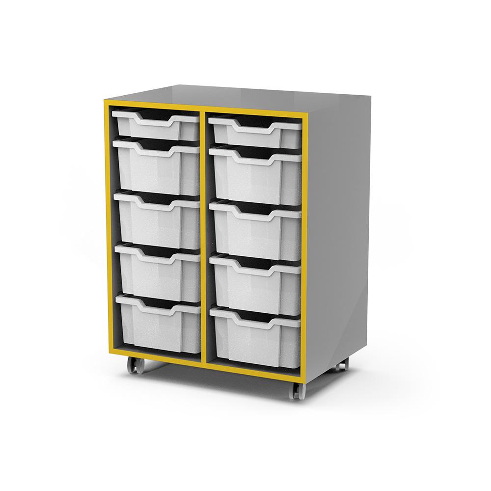 Storage Snr Caddy (10 Tray) C054 | Beparta Flexible School Furniture