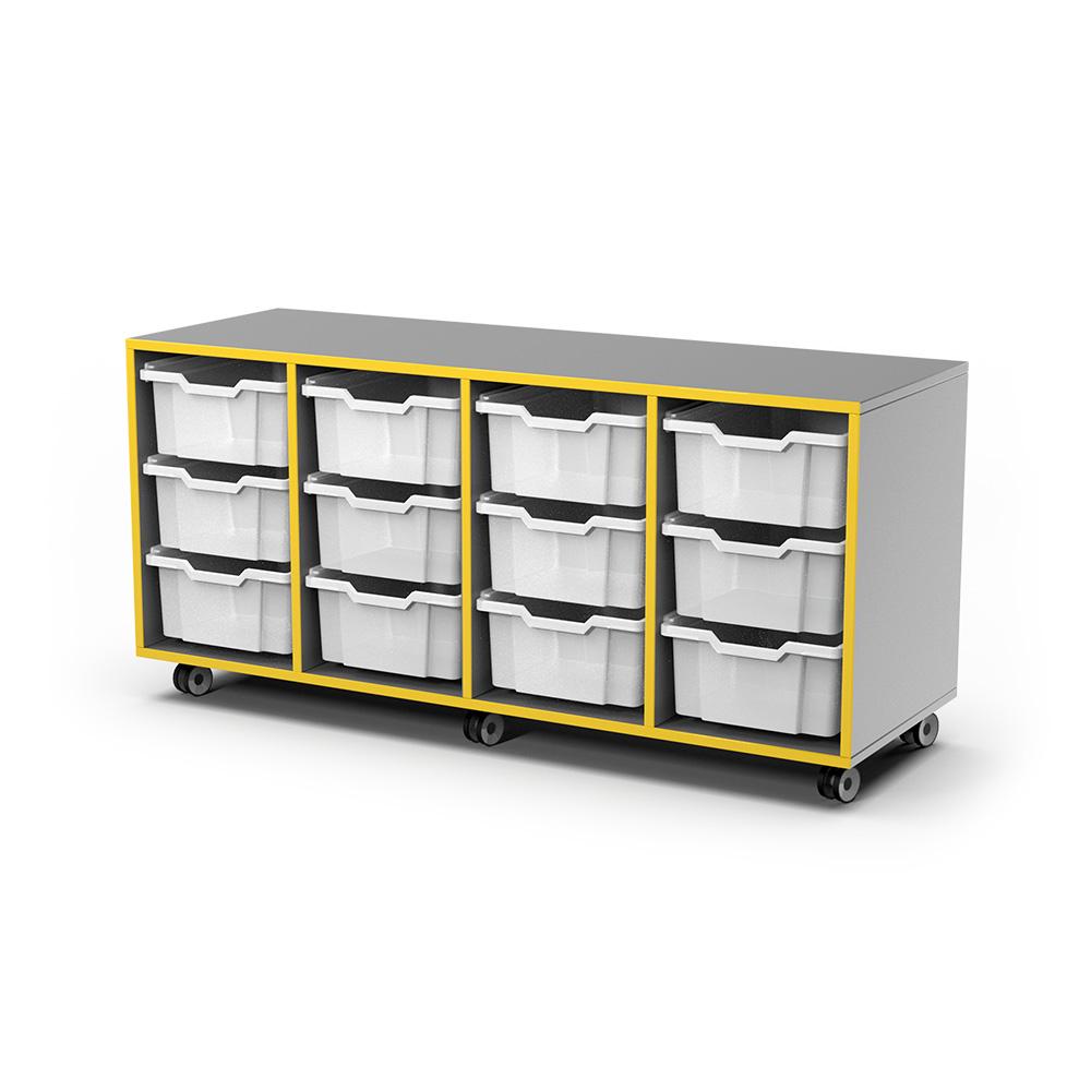 Storage Snr Caddy (12 Tray) C055 | Beparta Flexible School Furniture