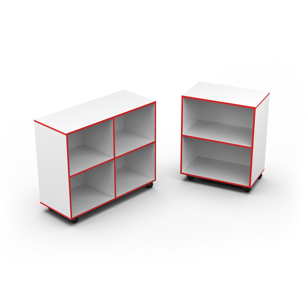 Straight Bookcase | Beparta Flexible School Furniture
