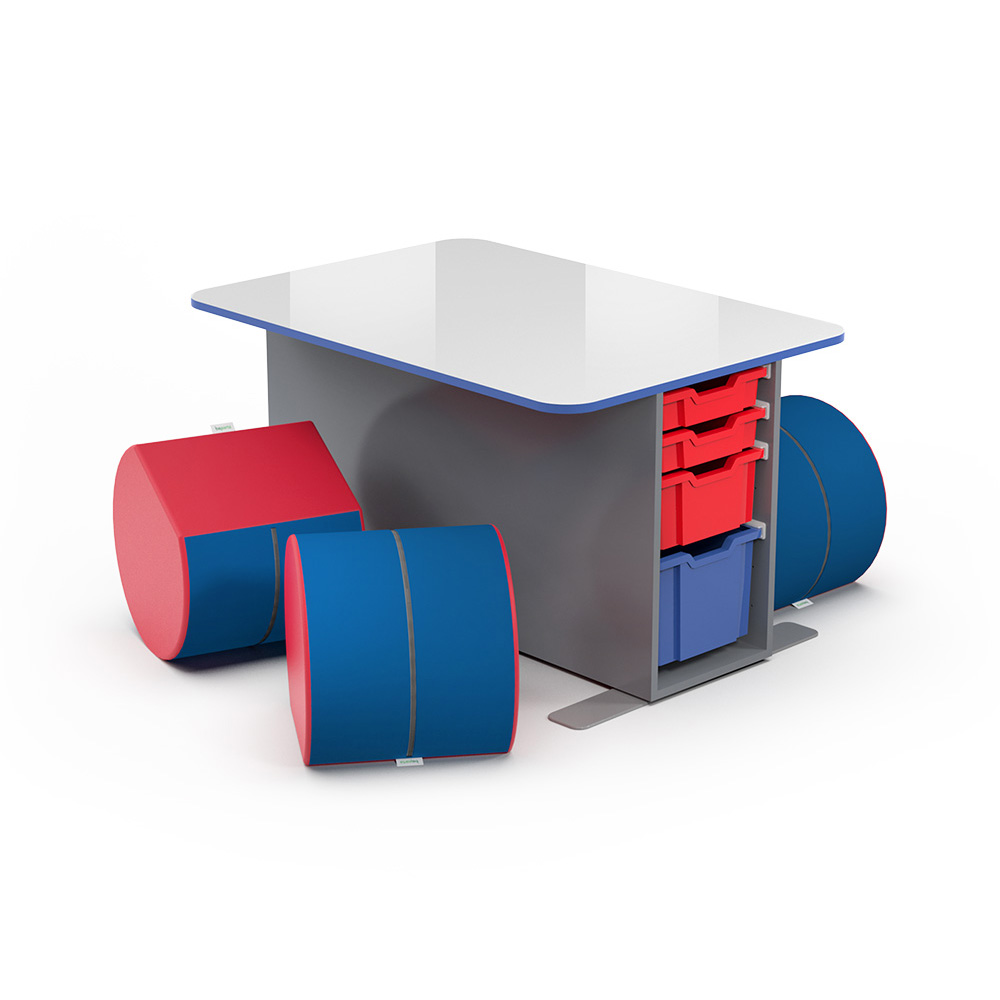 T-Table (Double) Collection C004 | Beparta Flexible School Furniture