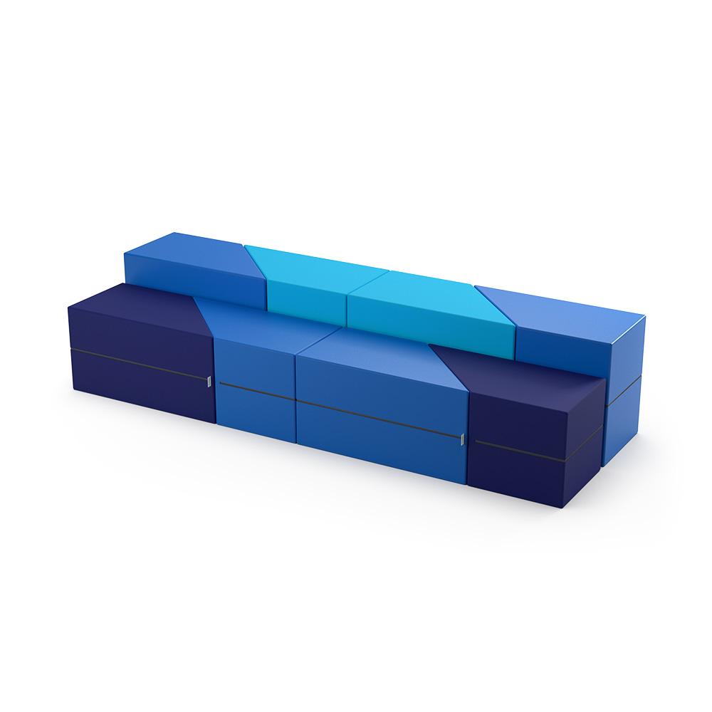 Trapeze Bench Collection C031 | Beparta Flexible School Furniture