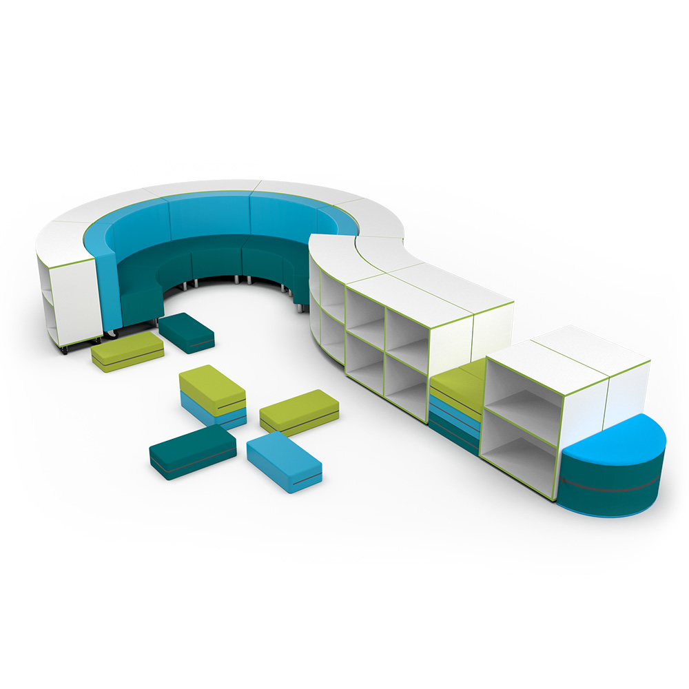 Bookcase Collection C062 | Beparta Flexible School Furniture