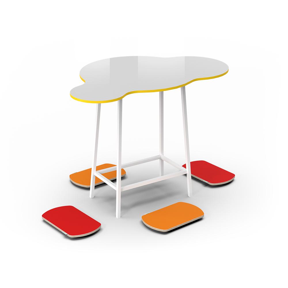 Cloud High Collection C069 | Beparta Flexible School Furniture