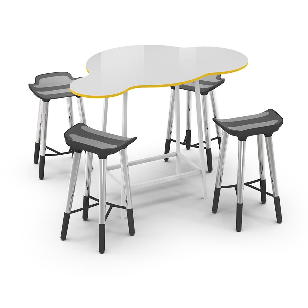 Cloud High Collection C072 | Beparta Flexible School Furniture